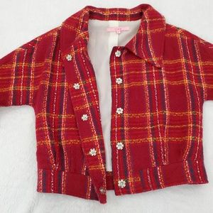 view Jackets & Coats - Vintage View Red Retro Jacket Sz 4